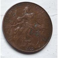 Франция 10 сантимов, 1902 3-12-20