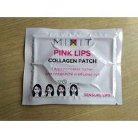 Маска-патч для губ с коллагеном MIXIT Pink lips