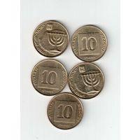 10 агарот Израиля 5