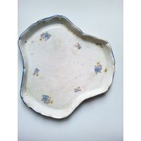 Тарелка поднос керамическая