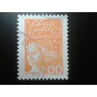 Франция 1997 стандарт 1,00
