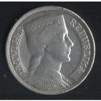 Латвия 5 лат 1929 г. (*). Сохран!!!