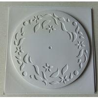 Форма для изготовления часы настенные диаметр 28 см.