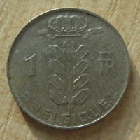 Бельгия 1 франк 1978 год (BELGIQUE)