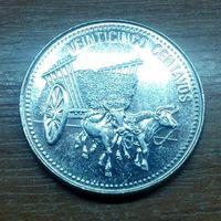 Доминиканская Республика 25 сентаво 1990 (3)