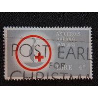 Ирландия 1963 г. Красный крест.
