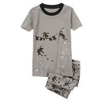 Пижама Gymboree размер 3. Рисунок светится в темноте