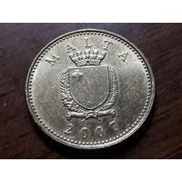 Мальта 1 цент 2007