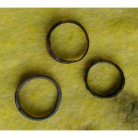 Кольца древние сборный лот