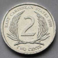 Восточные Карибы, 2 цента 2008 г