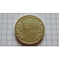 2 Злотых 2004 Речь Посполитая Польша -памятные- *латунь