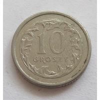 Польша 10 грошей 1992