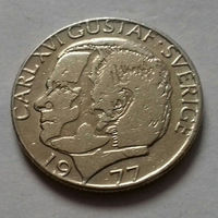 1 крона, Швеция 1977 г.