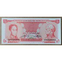 5 боливаров 1989 года - Венесуэла - UNC