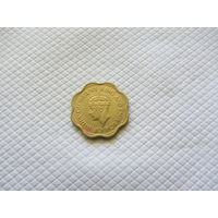 10 центов 1944, Цейлон.