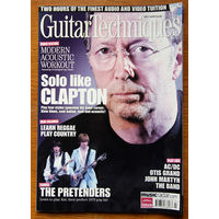Guitar Techniques July 2008 (Часопiс + DVD)