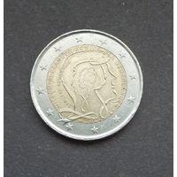 2 евро 2013. Нидерланды. 200 лет королевству
