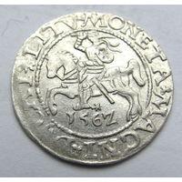 Полугрош литовский 1562 Вильно Сигизмунд Август