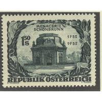Австрия 1952 Mi# 973 (MNH**)