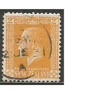 Новая Зеландия. Король Георг V. 1916г. Mi#153.