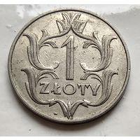 Польша 1 злотый, 1929  2-3-1