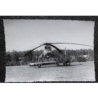 Фото военного транспортного вертолета МИ-10. 12х17.5 см