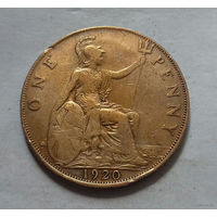 1 пенни, Великобритания 1920 г., Георг V