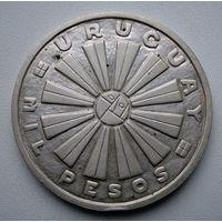 1000 песо, 1969 год, Уругвай.