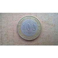Казахстан 100 тенге, 2007. (U-бцу)