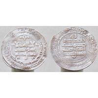 Дирхем Саманиды Ахмад б. Исмаил  М.Д. Аш-Шаш 301 г.х.(913-914 г.р.х.) при халифе Аль-Муктадир