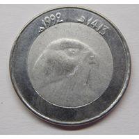 Алжир 10 динаров 1992 г
