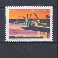[956] Бразилия 2007.Мост.
