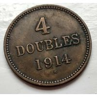 Гернси 4 дубля, 1914 1-9-4