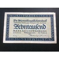 Германия,10000 марок,1923.