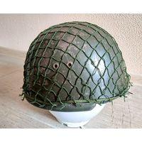Десантный шлем Wz.63 Польша PRL - ГДР NVA DDR, оригинал - с рубля без МПЦ!