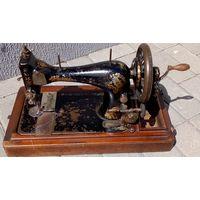 Швейная машинка SINGER (ЗИНГЕР) в рабочем состоянии-J1215798-1905 год.