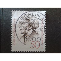 Берлин 1987 зам. мэра Берлина Михель-1,4 евро гаш.