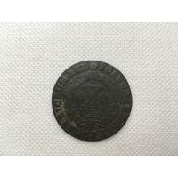 Монета 10 рейс Португалия 1734 год