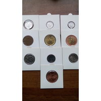Набор монет Чехии.