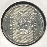 Португалия 500 эскудо 1996 г. 150-летие Банка Португалии. Серебро.