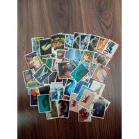 61 коллекционная  наклейка к журналам издательства PANINI, конец 90 годов.