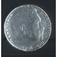 Германия 3-й Рейх 2 марки 1939 г. Не дорого!!!