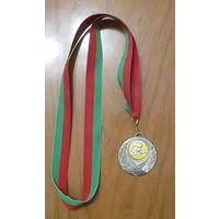 Медаль за 2 место в чемпионате пограничных войск Беларуси по мини футболу