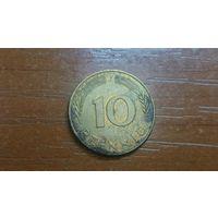 10 пфеннигов 1979 J