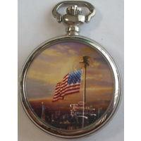 Часы Thomas Kinkade, кварц, привезены из США