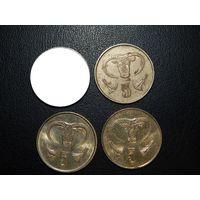Кипр 5 центов (список)