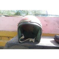 Шлем советский мотоциклетный б/у