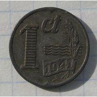 Нидерланды 1 Цент 1941   (105)