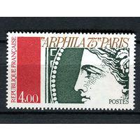 Франция - 1975 - Филателистическая выставка Arphila 75 - Церера - [Mi. 1919] - полная серия - 1 марка. MNH.