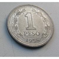1 песо 1958 г. Аргентина